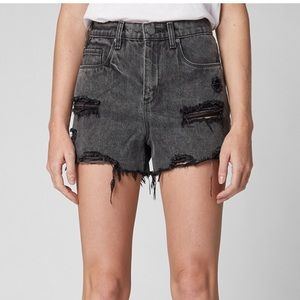 Blank NYC Distressed Shorts
